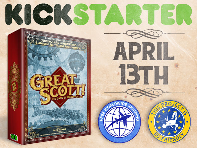 Great Scott Kickstarter
