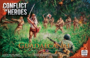 Conflict of Heroes Guadalcanal Box Art