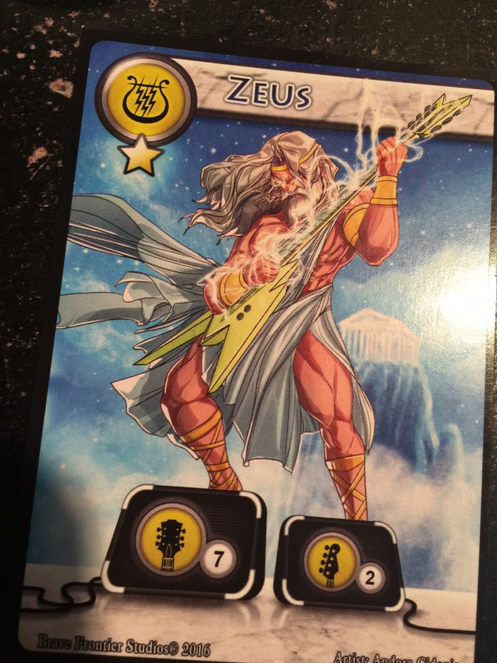 Zeus The Lords of Rock