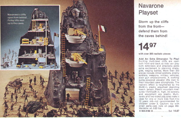 Guns of Navarone Playset
