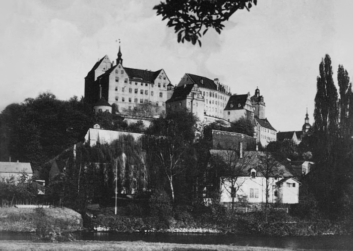 Colditz Castle in April 1945.