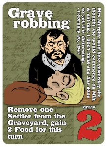 grave-robbing
